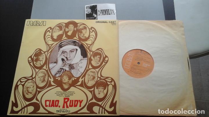TROVAIOLI ?– CIAO, RUDY LP RCA ORIGINAL CAST ?– OLS 13 EDICIÓN ITALIANA (Música - Discos - LP Vinilo - Bandas Sonoras y Música de Actores )
