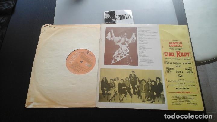 Discos de vinilo: Trovaioli ?– Ciao, Rudy LP RCA Original Cast ?– OLS 13 Edición Italiana - Foto 2 - 116688407