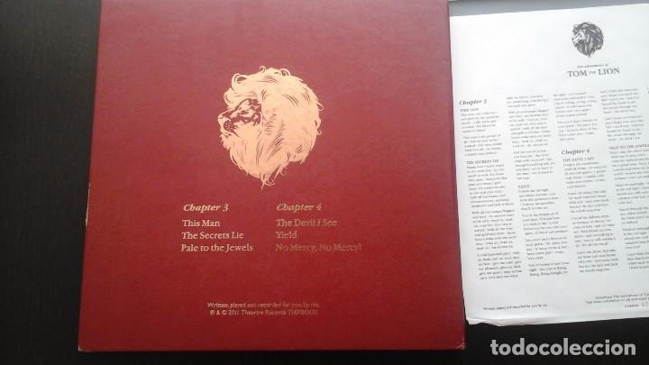 Discos de vinilo: Tom The Lion ?– The Adventures Of Tom The Lion (Chapters 3 & 4) 2x10: Theartre Records ?– THXREX02 - Foto 2 - 116689267
