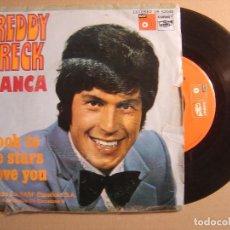 Discos de vinilo: FREDDY BRECK - BIANCA + LOOK TO THE STARS ABOVE YOU - SINGLE ESPAÑOL 1973 - BASF. Lote 116689879