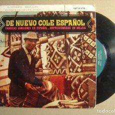 Discos de vinilo: NAT KING COLE - SOLAMENTE UNA VEZ + PIEL CANELA...- EP ESPAÑOL 1962 - CAPITOL. Lote 116693695