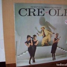 Discos de vinilo: KID CREOLE AND THE COCONUTS - CRE- OLE - LP . Lote 116706711