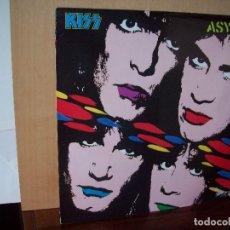 Discos de vinilo: KISS - ASYLUM - LP 1985 FABRICADO EN INGLATERRA. Lote 268913349