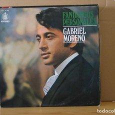 Discos de vinilo: GABRIEL MORENO - FANDANGOS PERSONALES - HISPAVOX HH (S) 10-396 - 1971. Lote 116715843