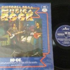 Discos de vinilo: 10 CC- HISTORIA DE LA MUSICA ROCK 99.. Lote 116741732