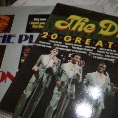 Discos de vinilo: 2 LP PLATTERS Y DRIFTERS. Lote 116741871