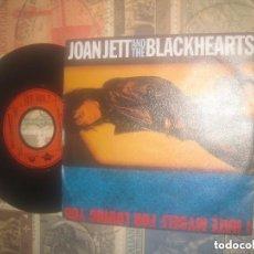 Discos de vinilo: JOAN JETT & THE BLACKHEARTS / I HATE MYSELF FOR LOVING YOU (POLYDOR-1988) OG ALEMAN. Lote 116742091