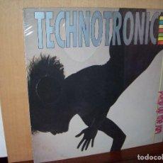 Discos de vinilo: TECHNOTRONIC - PUMP UP THE JAM - LP 1989. Lote 116749783