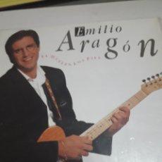 Discos de vinilo: LP ANTIGUO EMILIO ARAGÓN *TE HUELEN LOS PIES*. Lote 116762542