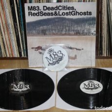 Discos de vinilo: M83. DEAD CITIES, RED SEAS & LOST GHOSTS 2X LP + CD 2014 VINYL ELECTRONIC. Lote 116766251