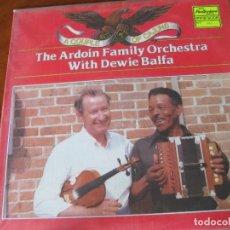 Discos de vinilo: THE ARDOIN FAMILY ORCHESTRA WITH DEWIE BALFA - CAJUN - EN PERFECTO ESTADO. Lote 116772091
