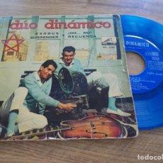 Discos de vinilo: DÚO DINAMICO. EXODUS, SURRENDER, OH NO. RECUERDA. Lote 116774975