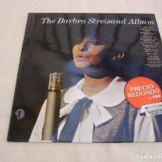 Discos de vinilo: THE BARBRA STREISAND ALBUM_VINILO LP 12'' EDICION ESPAÑOLA_1985. Lote 116776339