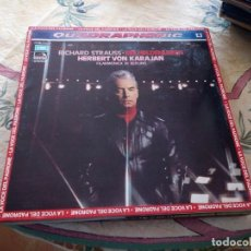 Discos de vinilo: RICHARD STRAUSS - HERBERT VON KARAJAN, BERLIN PHILHARMONIC ?– EIN HELDENLEBEN.1975. Lote 116780767