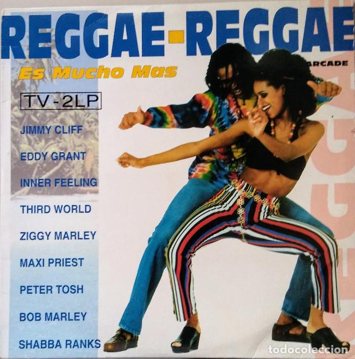 REGGAE REGGAE ES MUCHO MAS DOBLE LP (Música - Discos de Vinilo - EPs - Grupos y Solistas de latinoamérica)