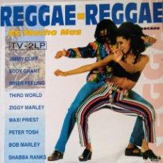 Discos de vinilo: REGGAE REGGAE ES MUCHO MAS DOBLE LP. Lote 116792319