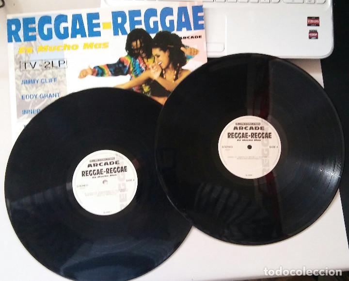 Discos de vinilo: REGGAE REGGAE ES MUCHO MAS DOBLE LP - Foto 2 - 116792319