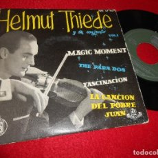 Discos de vinilo: HELMUT THIEDE VIOLIN&CONJUNTO VOL.1 MAGIC MOMENT/THE PARA DOS * +2 EP 1959 ESPAÑA SPAIN. Lote 116814267