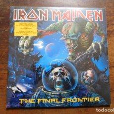 Discos de vinilo: IRON MAIDEN. 2LPS PICTURE DISC. THE FINAL FRONTIER AÑO 2010. PRECINTADO. Lote 116823987
