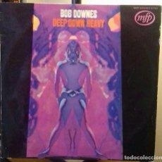 Discos de vinilo: BOB DOWNES DEEP DOWN HEAVY LP PSYCH PROG JAZZ. Lote 116827915