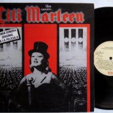 Discos de vinilo: LILI MARLEEN. BANDA SONORA ORIGINAL. LP EMI 10C 064-064.538. ESPAÑA 1981. HANNA SCHYGULLA.. Lote 116828243