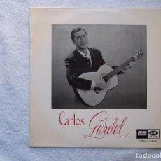 Discos de vinilo: CARLOS GARDEL_DISCO DE VINILO DE 10'' EDICION ESPAÑOLA_EMI ODEON_AÑO 1955 COMO NUEVO!!!. Lote 116834719
