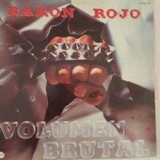 Discos de vinilo: LP BARÓN ROJO VOLUMEN BRUTAL. Lote 116836696