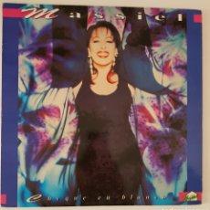 Discos de vinilo: LP MASSIEL CHEQUE EN BLANCO. Lote 116838696