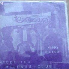 Discos de vinilo: FRANK MILLER Y SU ORQUESTA - SICODELICO / HIPPY / MELENAS CLUB / QUIERO - EP. Lote 116843499