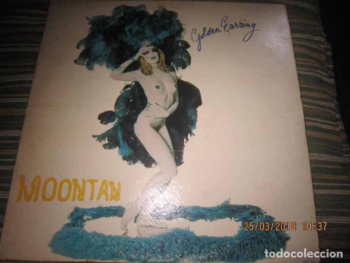 GOLDEN EARRING - MOONTAN LP - ORIGINAL U.S.A. - TRACK RECORDS 1974 CON FUNDA INT. GENERICA RARO (Música - Discos - LP Vinilo - Pop - Rock - Extranjero de los 70)