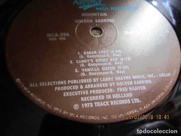 Discos de vinilo: GOLDEN EARRING - MOONTAN LP - ORIGINAL U.S.A. - TRACK RECORDS 1974 CON FUNDA INT. GENERICA RARO - Foto 17 - 116848035