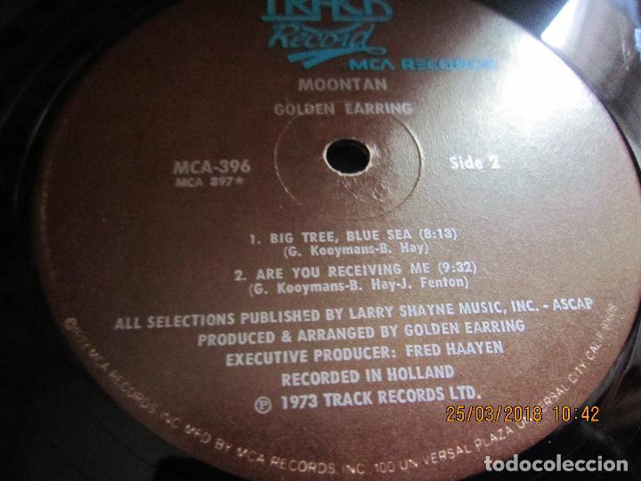 Discos de vinilo: GOLDEN EARRING - MOONTAN LP - ORIGINAL U.S.A. - TRACK RECORDS 1974 CON FUNDA INT. GENERICA RARO - Foto 20 - 116848035
