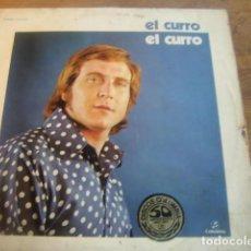 Discos de vinilo: EL CURRO - M/T***** RARO LP RUMBA 1976 FIRMADO!. Lote 116848335