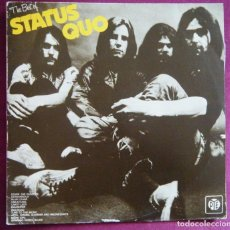 Discos de vinilo: STATUS QUO / THE BEST OF STATUS QUO. Lote 116890163