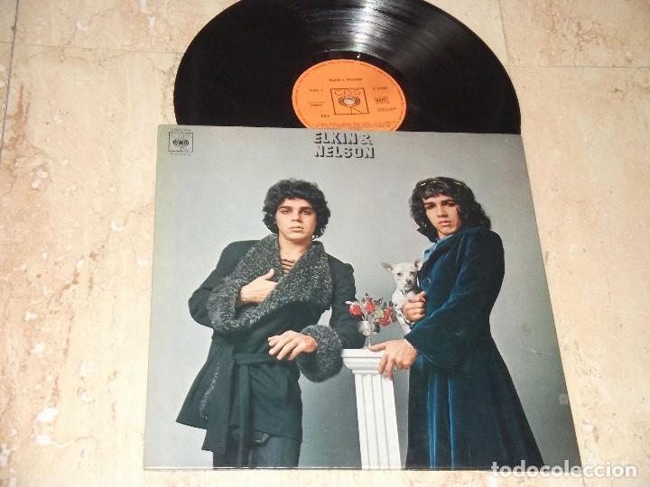 ELKIN & NELSON.-LP- ORIGINAL DE 1974. GATEFOLD COVER-PRIMERA EDICION S-65985 (Música - Discos - LP Vinilo - Grupos Españoles de los 70 y 80)