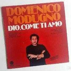 Discos de vinilo: (SEVILLA) LP DOMENICO MODUGNO - DIO, COME TI AMO. Lote 116898603