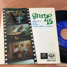 Discos de vinilo: GRUPO 15 (OPERACION SOL + 3) EP 1966 ESPAÑA (EPI10). Lote 116915791