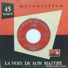 Discos de vinilo: MARIO LANZA SERENADE Nº1 OP.6. Lote 116934511