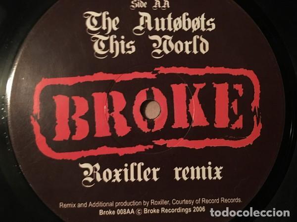 Discos de vinilo: vinilo 12 pulgadas, The Autøbøts – This World, BROKE 008 -2006 ,musica breaks,electro,muy cuidado. - Foto 2 - 116975375
