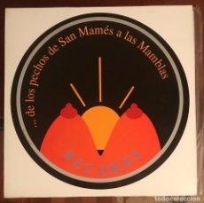 Discos de vinilo: DE LOS PECHOS DE SAN MAMES A LAS MAMBLAS RECORDS LP RARO 1989 RECOPILATORIO PUNK BURGOS. Lote 116976959