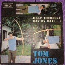Disques de vinyle: TOM JONES - HELP YOURSELF. Lote 116978723