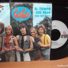 Discos de vinilo: COCO EL TIEMPO QUE PASO -EURO.78 SINGLE SPAIN 1978 PDELUXE. Lote 117005623
