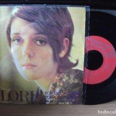 Discos de vinilo: GLORIA POR ESO TE QUIERO - BENIDORM SINGLE SPAIN 1971 PDELUXE. Lote 117012763