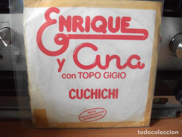 Discos de vinilo: ENRIQUE Y ANA LA YENKA SINGLE SPAIN 1979 PDELUXE - Foto 2 - 117016159