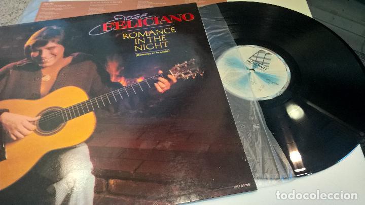 MUSICA LP: JOSE FELICIANO ROMANCE IN THE NIGHT (Música - Discos - LP Vinilo - Cantautores Extranjeros)