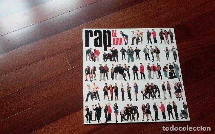 RAP DE AQUÍ- SWEET,THREE AS ONE,BZN,...LP (Música - Discos - LP Vinilo - Rap / Hip Hop)