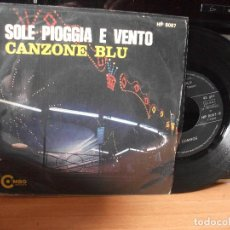 Discos de vinilo: I COMBOS SOLE PIOGGIA E VENTO -SR1970 SINGLE SPAIN 1970 PDELUXE. Lote 117024299