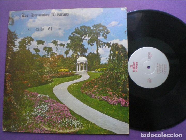 LOS HERMANOS ALVARADO - EXITO 61 - LP USA LA VOZ 1960S // SAN ANTONIO TEXAS XIAN (Música - Discos - Singles Vinilo - Country y Folk)