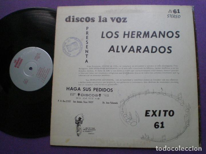 Discos de vinilo: LOS HERMANOS ALVARADO - Exito 61 - LP USA LA VOZ 1960s // SAN ANTONIO TEXAS XIAN - Foto 2 - 117050879