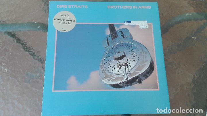 LP DIRE STRAITS BROTHERS IN ARMS VERTIGO ENVIO PENINSULA 5 EUROS NO ENVIO ORDINARIO (Música - Discos - LP Vinilo - Pop - Rock - New Wave Extranjero de los 80)